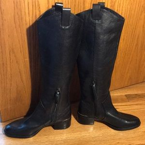 Size 5 Louise et Cie Black Leather Riding Boots